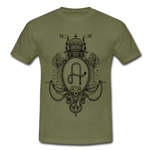 fabcl logo 02 black - Men's T-Shirt