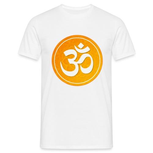 om sign - Mannen T-shirt
