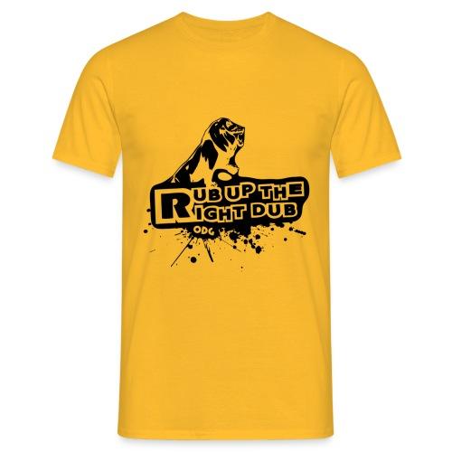 rubuptshirtvecto2 - T-shirt Homme