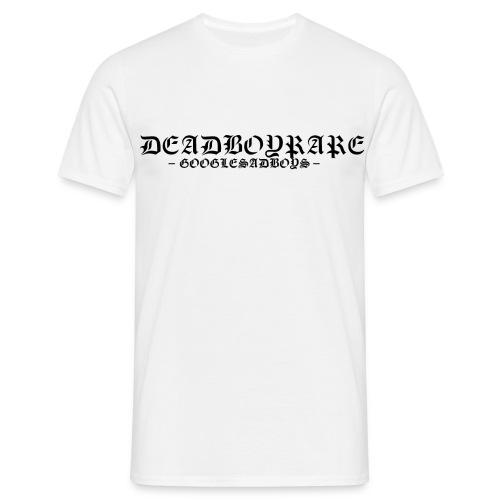 deadboyrare googlesadboys schwarz - Männer T-Shirt