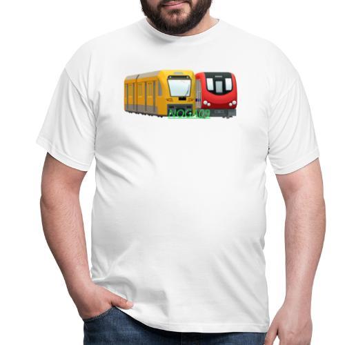 transparent NOGA09 logga - T-shirt herr