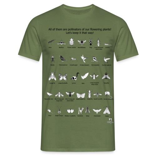 Grupos funcionales de polinizadores - Camiseta hombre