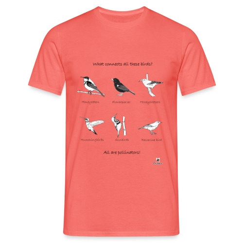 Birds pollinators! - Camiseta hombre