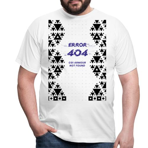 Error404 - CGI Armour Not Found - Männer T-Shirt