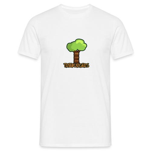 Treeburgers big logo - Men's T-Shirt