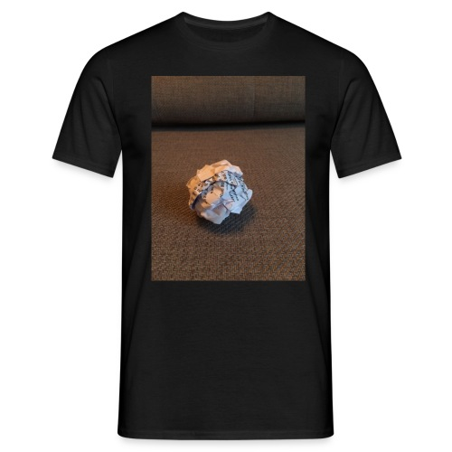 Jeg skal lave et projekt i billedkunst - Herre-T-shirt