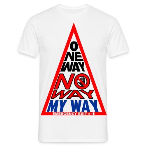 No way - Maglietta da uomo