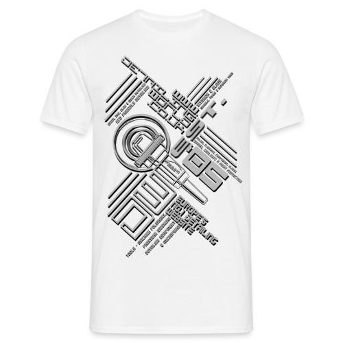 tech one - Men's T-Shirt