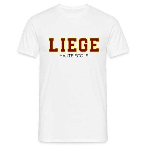Liège Haute Ecole Rouge - T-shirt Homme