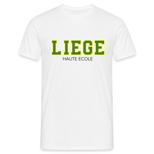 Liège Haute Ecole Vert - T-shirt Homme