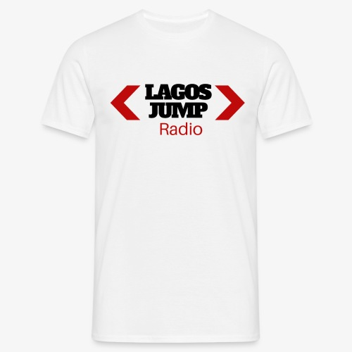 LagosJump Radio (Black) 1 - Men's T-Shirt