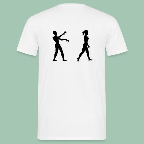 zombie - Maglietta da uomo