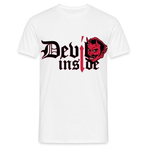 devil inside finish - Männer T-Shirt