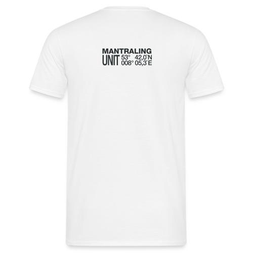 Mantrailing Aufkleber 6cm Dez2015 10 png - Männer T-Shirt