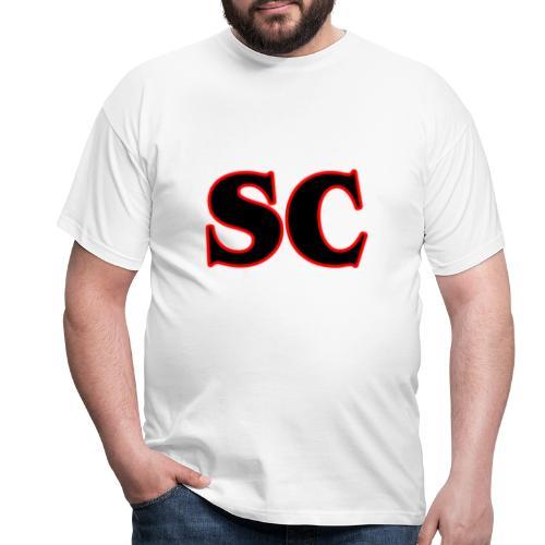 Classic StrangeCommunity logo - Mannen T-shirt