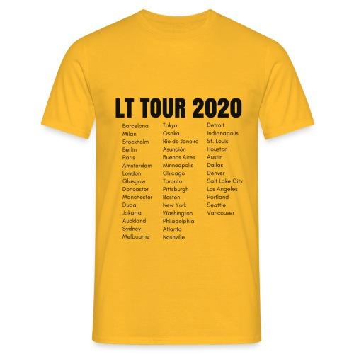 LT TOUR 2020 BLACK - Men's T-Shirt