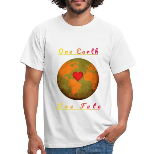 One Earth One Fate - Männer T-Shirt