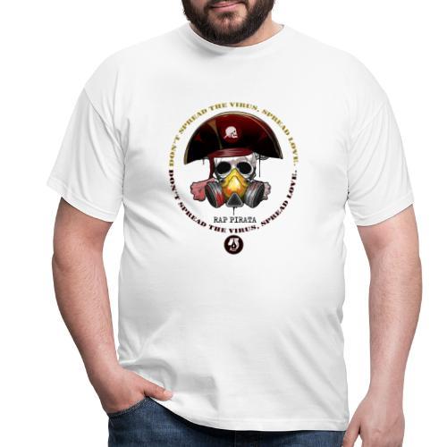 RAPPIRATA X iorestoacasaArtistiUniti - Maglietta da uomo
