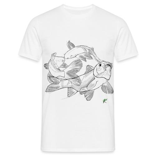 Carpa koi - Maglietta da uomo