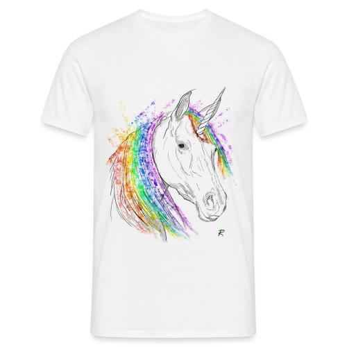 Unicorno - Maglietta da uomo