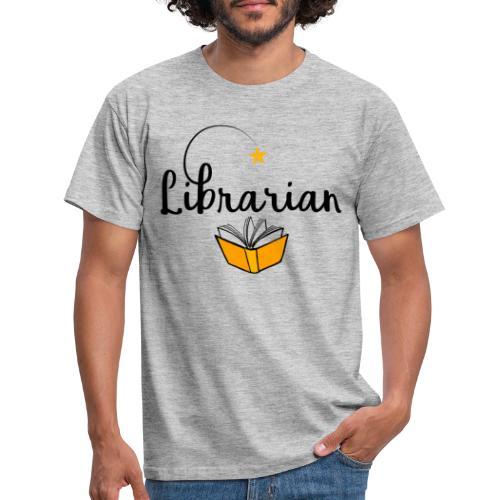 0326 Librarian & Librarian - Men's T-Shirt