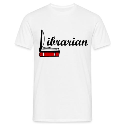 0324 Librarian Librarian Library Book - Men's T-Shirt