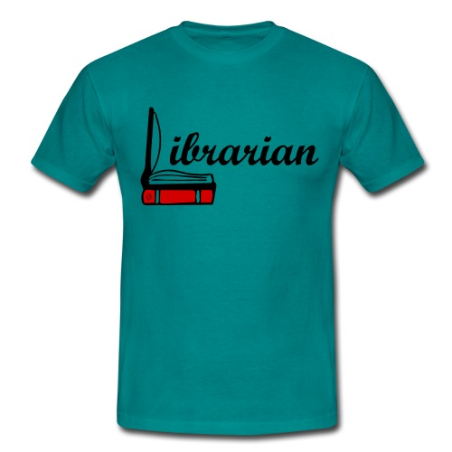 0324 Librarian Librarian Library Book - Men's T-Shirt