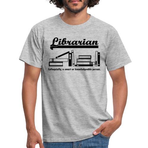 0332 Librarian Cool saying - Men's T-Shirt