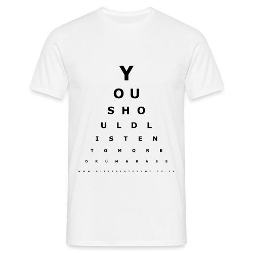 Drum & Bass Eye Test - Men's T-Shirt