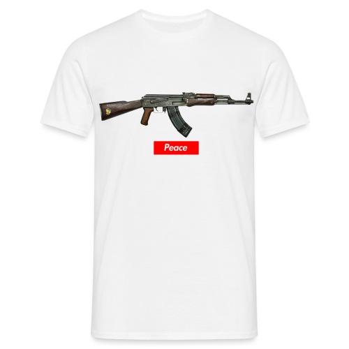 Ak 47 Peace - Männer T-Shirt