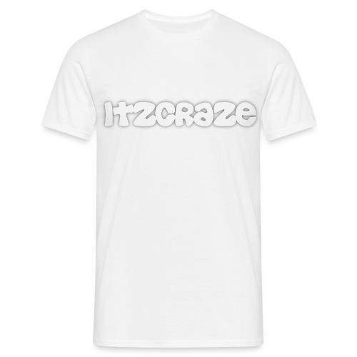 itzcraze apparel white - Men's T-Shirt