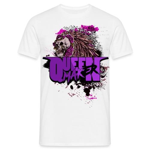 QM SKULL - T-shirt herr