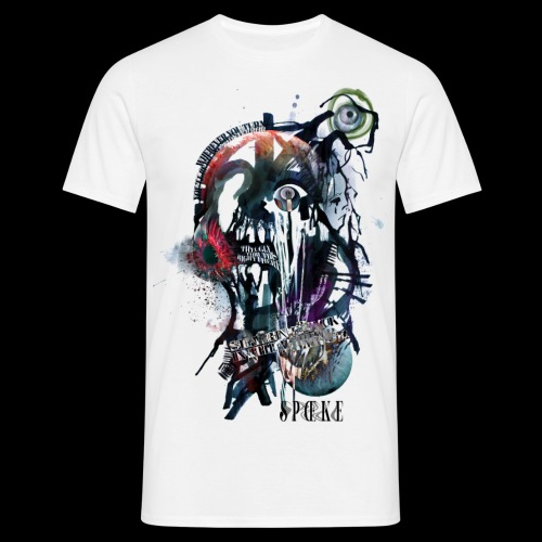 GHOST The Ugly Truth Design by SEIKE - Men's T-Shirt