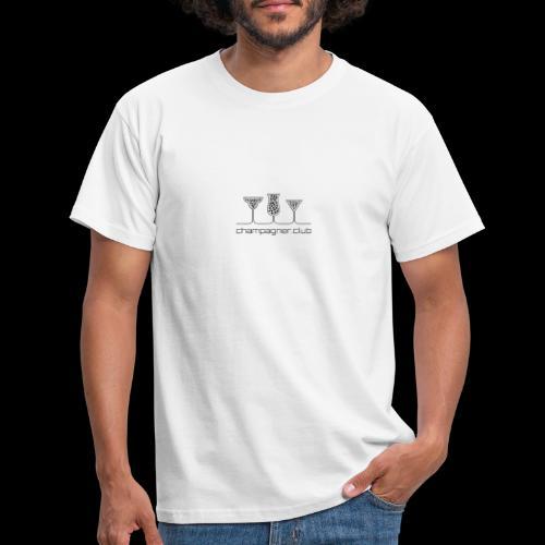 champagner club - Männer T-Shirt