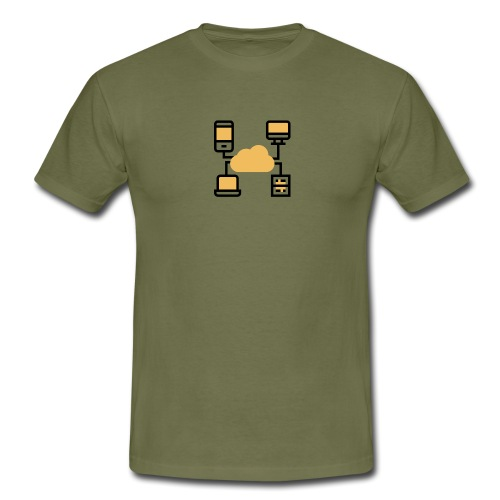 Servicio de nube - Camiseta hombre