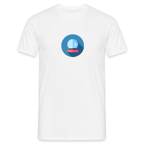 crystal ball 2 - Mannen T-shirt