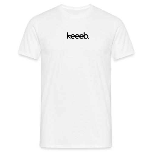 Männer T-shirt mit dem Logo von Keeeb - Männer T-Shirt