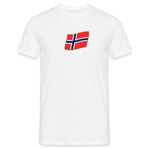 Singlet m/flagg og teksten TIL VALHALL! - T-skjorte for menn