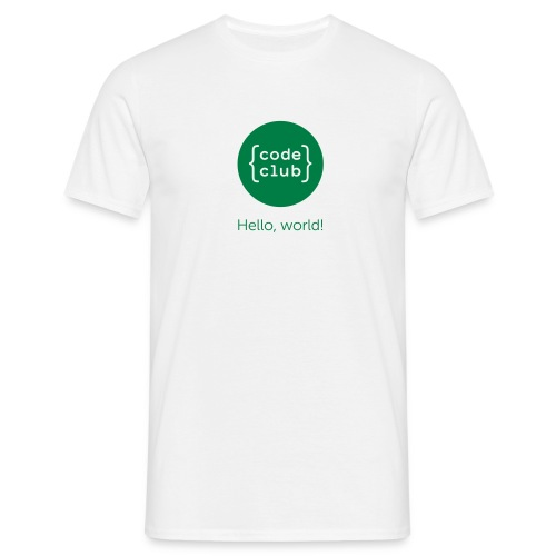 cchelloworld - Men's T-Shirt