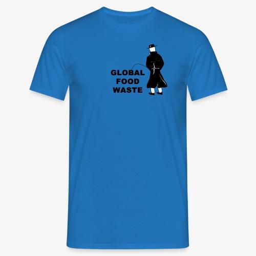 Pissing Man against Global Food Waste - Männer T-Shirt