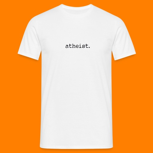 atheist BLACK - Men's T-Shirt