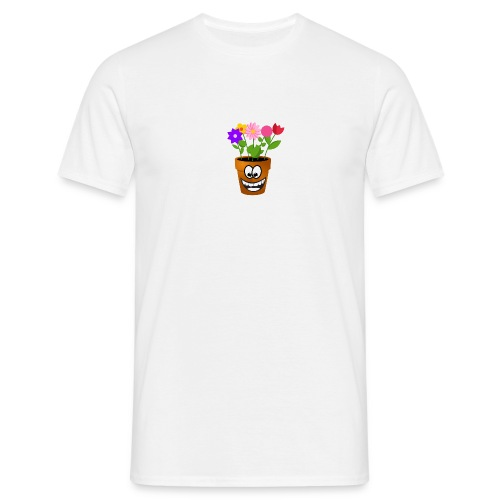 Pot logo less detail - Mannen T-shirt