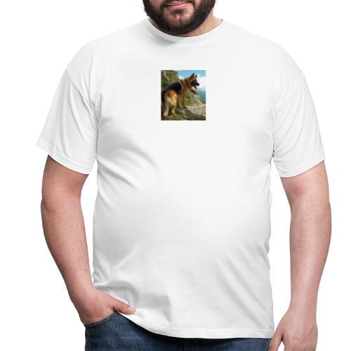 un chien berger allemand 4b257eb32ea8333f132a9071d - T-shirt Homme