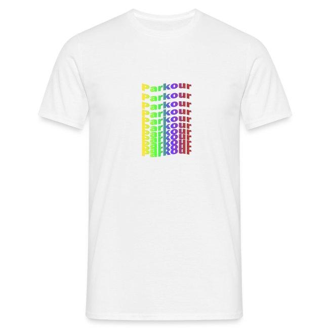 Parkour rainbow