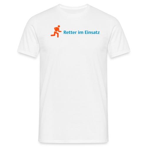 retter orange - Männer T-Shirt