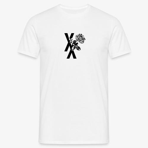 EST19XX ROSE - Mannen T-shirt