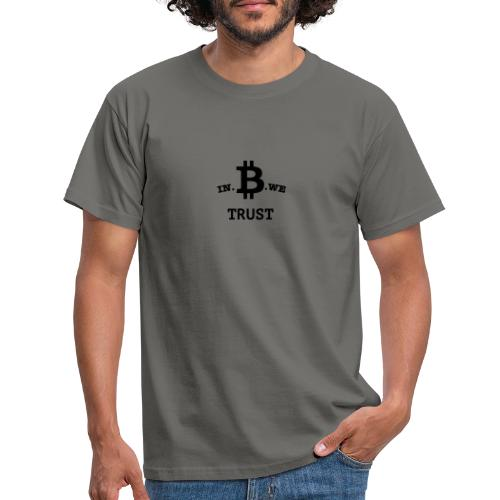 In B we trust - Mannen T-shirt