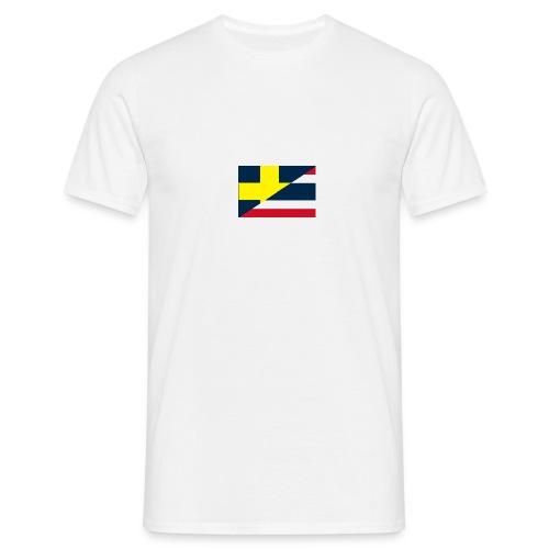 thailands flagga dddd png - Men's T-Shirt