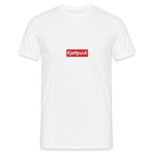 Kjøttpuck box-logo tee - T-skjorte for menn