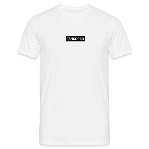 CENSORED - Männer T-Shirt